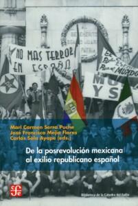 Portada libro exilio español