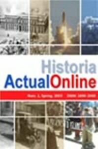 Portada de la Revista Historia Actual On-line