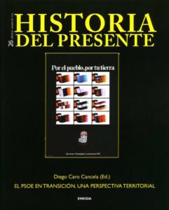 Portada de la Revista Historia del Presente número 26