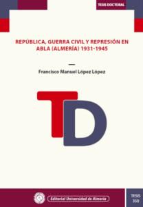 Portada libro tesis de Paco López
