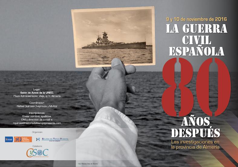 Cartel de las Jornadas 80 aniversario guerra