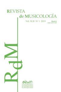 1Revista de Musicología (2019, n1)